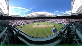 Serena Williams in 360 - Wimbledon 2016
