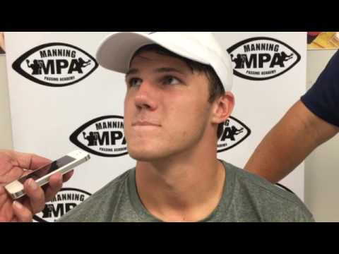 Mississippi State QB Nick Fitzgerald acting like a sponge around Mannings