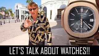 LET'S TALK WATCHES!!
