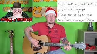 Gitarre lernen - Jingle Bells - Weihnachtslieder für Anfänger und Kinder
