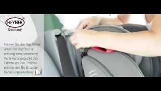 Heyner Capsula Multifix 9-36kg İsofix Montaj Videosu