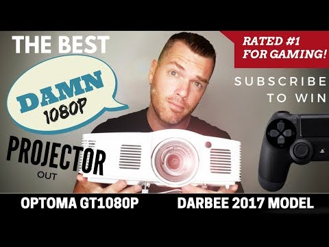 Best 1080p Gaming Projector | Optoma GT1080 Darbee 2017 Review