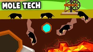 Advanced MOLE Army MAKES MILLIONS!  Animal Technology (Turmoil the Heat is On DLC Gameplay)