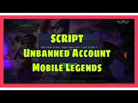 SCRIPT UNBANNED ACCOUNT MOBILE LEGENDS: BANG BANG thumbnail