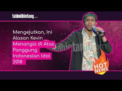 Mengejutkan, Ini Alasan Kevin Menangis di Atas Panggung Indonesian Idol 2018