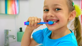 Maya and Mary Learn Healthy Habits for Kids - Brush Your Teeth Song