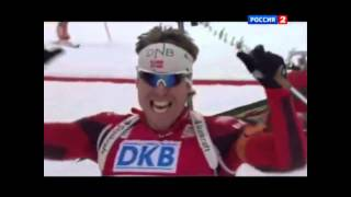 ТОП-5 мировых финишеров в биатлоне