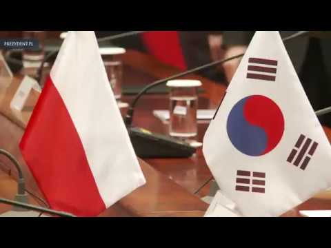 Wizyta Pary Prezydenckiej w Republice Korei