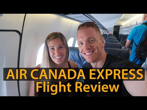 AIR CANADA EXPRESS - Ottawa To Montreal Flight Review
