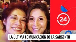 La última comunicación de la sargento desaparecida en Colombia con su familia