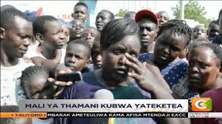 Mali ya thamani kubwa yateketea Lodwar