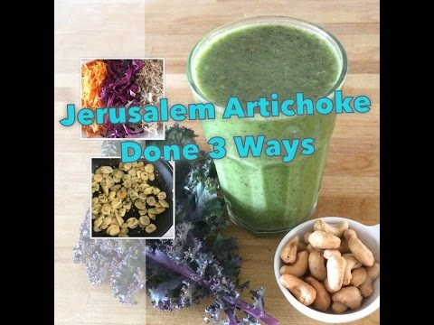 Jerusalem Artichokes - 3 Recipes for Gut Health