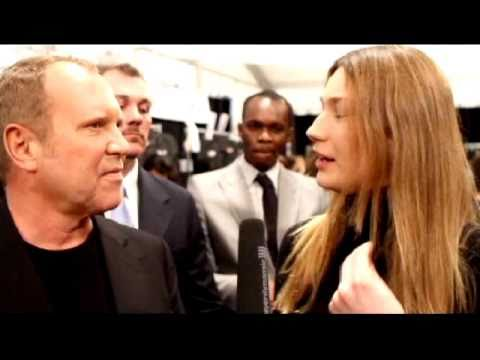 Best of Fashion Week New York Fall 2010 - Michael Kors Interview