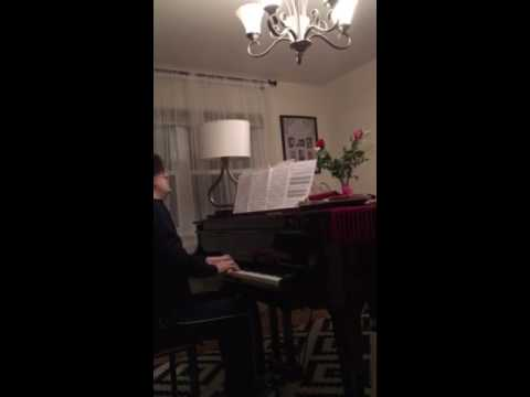 """Night Waltz"" - composer and pianist George Oakley"