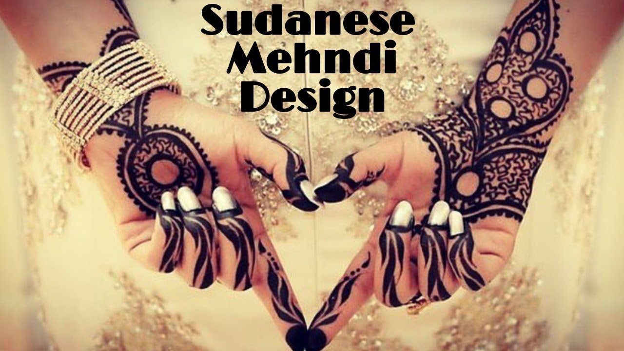 Latest New Sudanese Mehndi Design 2018 Sudanese Henna Youtube