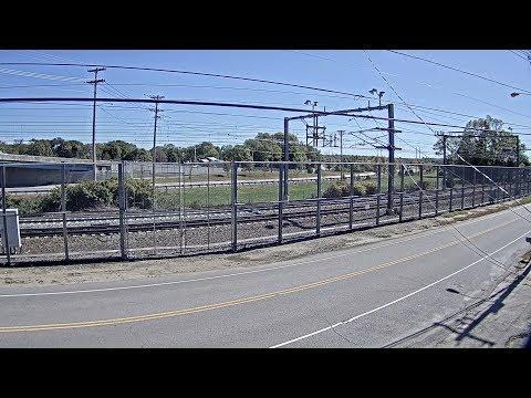 NEC at Davisville, RI - Virtual Railfan LIVE (DEMO)