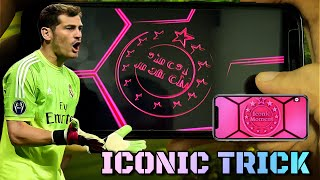 How to get ic๐nic moment Real Madrid in PES 2021 Mobile || Handcam Trick