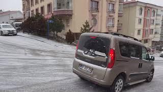 Ankara da ilk kar yağışı 2018