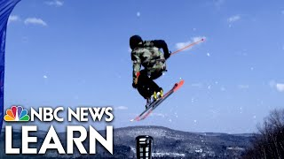 NBC News Learn: The Physics of Slopestyle Skiing thumbnail