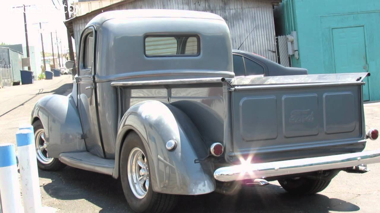 1940 FORD TRUCK BEING RESTORED - YouTube