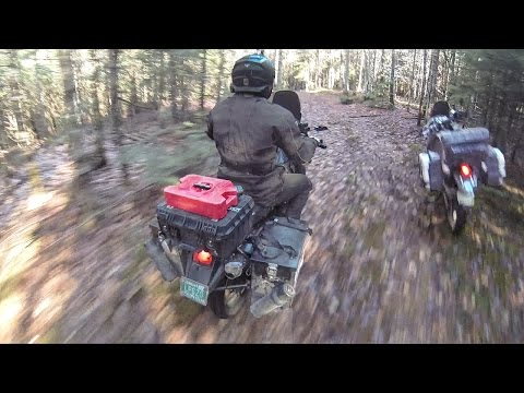 EPIC DUAL SPORT TRAIL RIDING / CAMPING !!