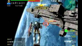 Mobile Suit Gundam: Federation vs. Zeon Gameplay