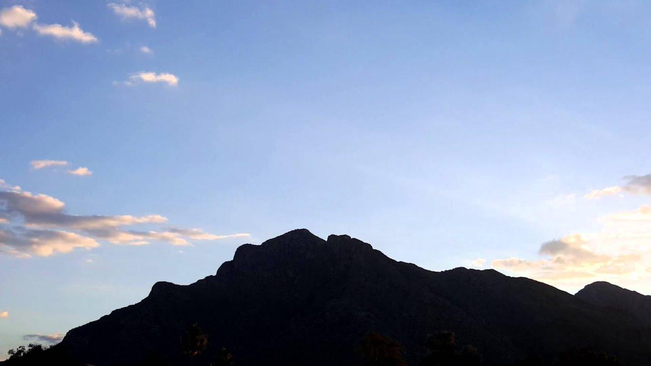 Slo Mo Pusch Peak Sunrise Time Lapse October 26 2015 Youtube