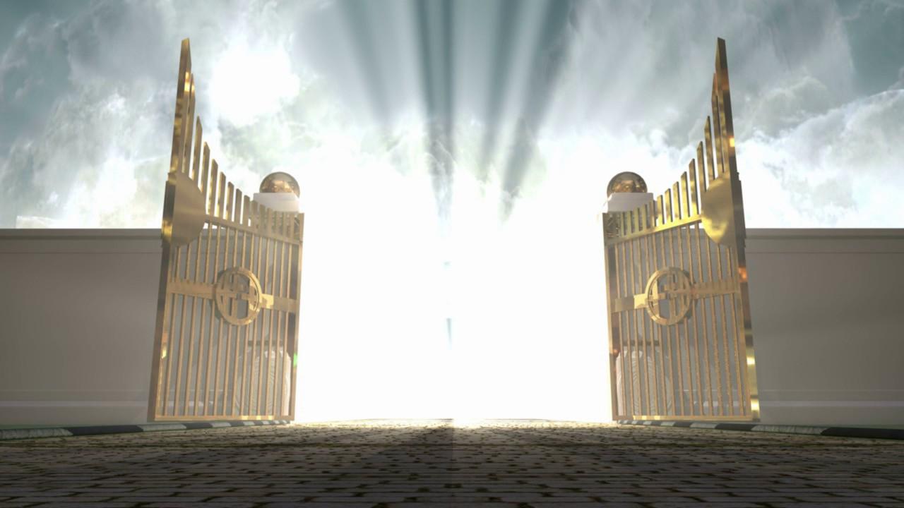 Golden Gates Of Heaven Open