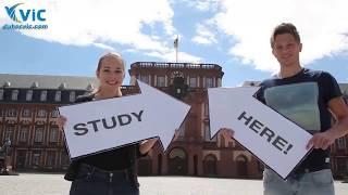 Du học Đức - Đại học Mannheim   Du học Vic