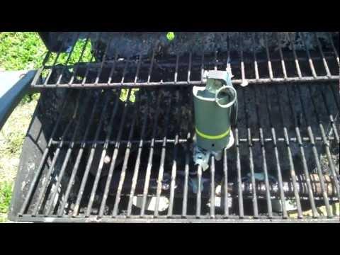 Thermite Grenade vs Grill