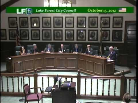 LF City Council - 10-15-12