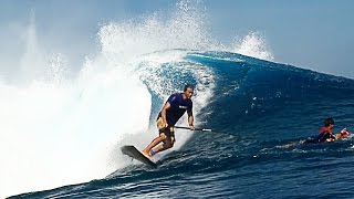 Just SUPing Through   Big Wave SURFING   Patrice Chanzy