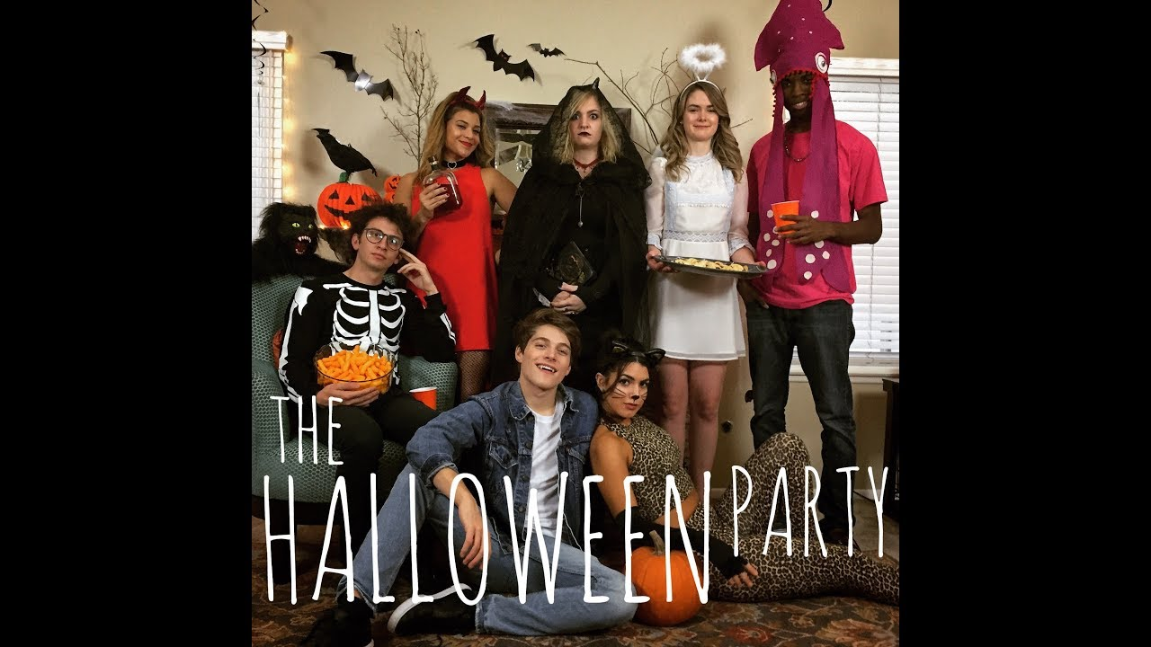 The Halloween Party - YouTube