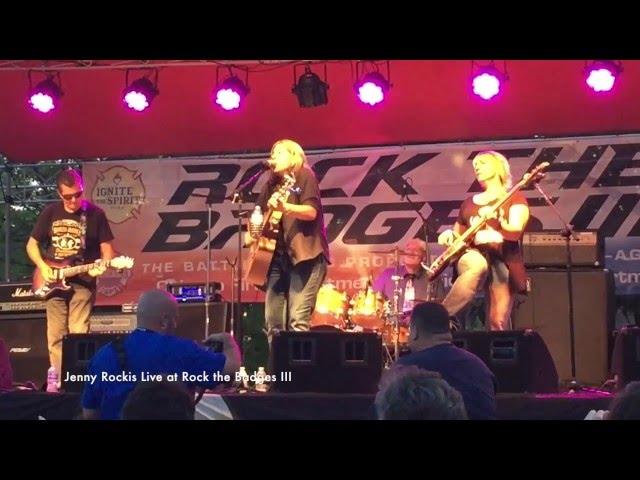 Jenny Rockis Live - Gimme Shelter/Girl Crush/Me & Bobby McGee