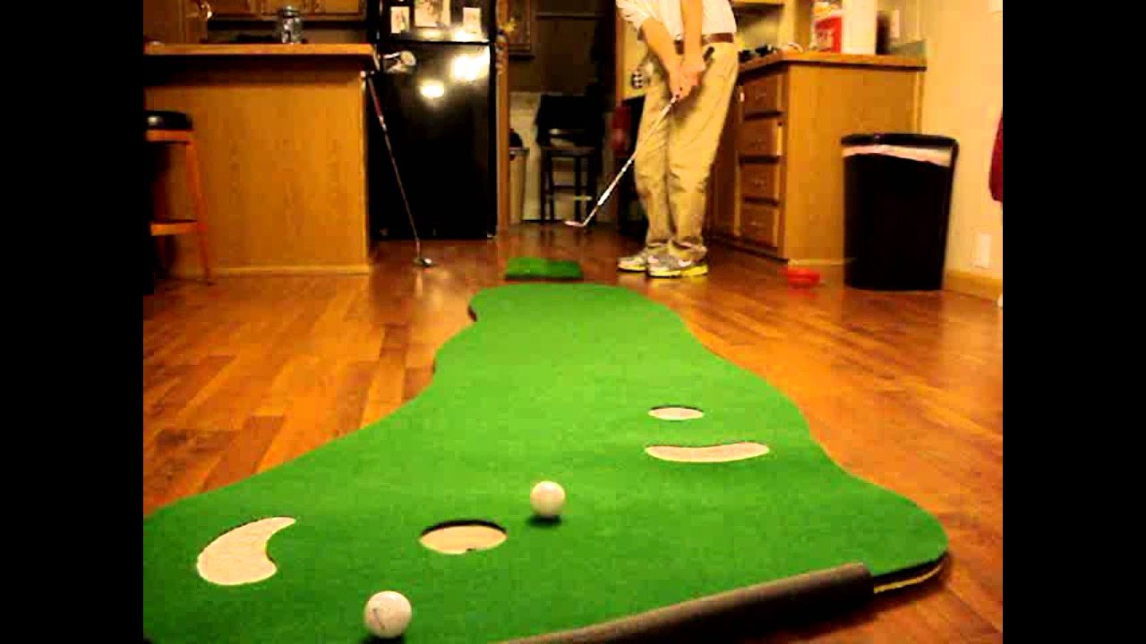 PSG Indoor Putting Golf Green - YouTube