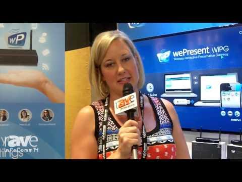 InfoComm 2014: wePresent Displays its Wireless Interactive Presentation Gateway Models