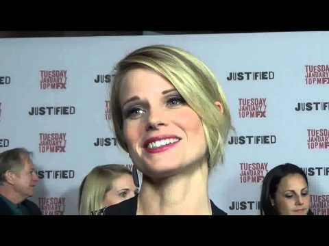 JUSTIFIED Premiere: Walton Goggins & Joelle Carter