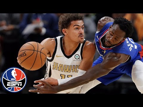 Trae Young racks up 25 points in Hawks' loss vs. Clippers | NBA on ESPN