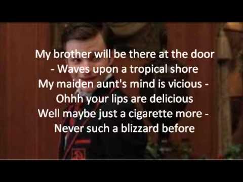 Glee-Baby It's Cold Outside Lyrics