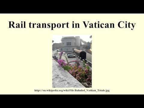 Rail transport in Vatican City