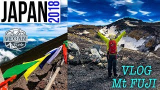 How I climbed Mt FUJI in one DAY, sleeping at the mountain, food, Yoshida trail, transport, cycling