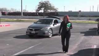 Parking lot Nightmare turns into Crime Scene !!