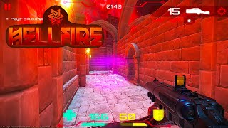 Hellfire - Android Gameplay (Multiplayer Arena FPS)