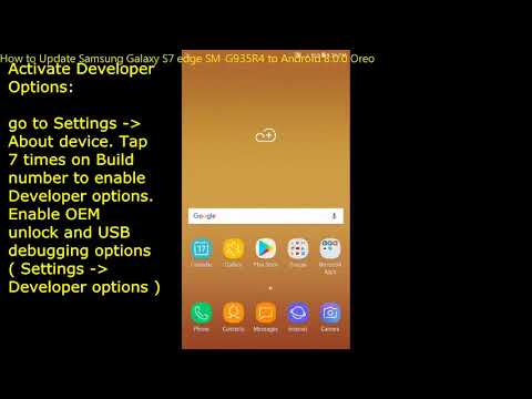 How to Update Samsung Galaxy S7 edge SM-G935R4 to Android 8.0.0 Oreo