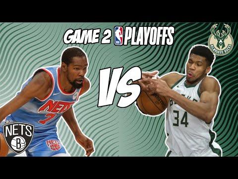 Brooklyn Nets vs Milwaukee Bucks Game 2 6/7/21 NBA Playoff Free NBA Pick & Prediction