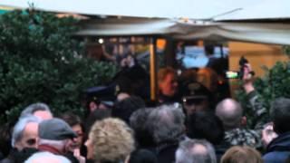Napolitano Festa Ex Presidente della Repubblica Rione Monti Roma