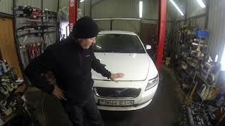 Стук клапанов Volvo S40 1.6  бензин
