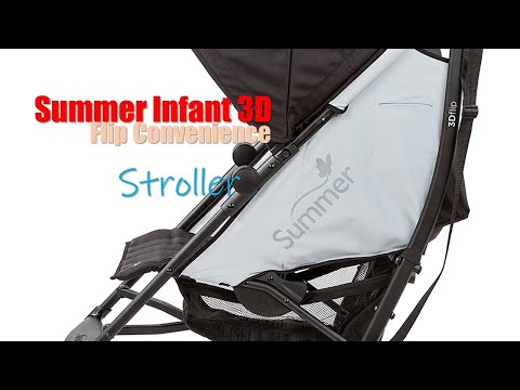 Summer time Infant 3Dflip Convenience Stroller Review