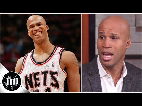 09529267790 Ex-Net Richard Jefferson on whether the Nets can steal New York from Knicks  | The Jump - YouTube