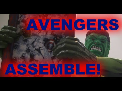 Make this Avengers Bulletin Board - Don't buy, DIY